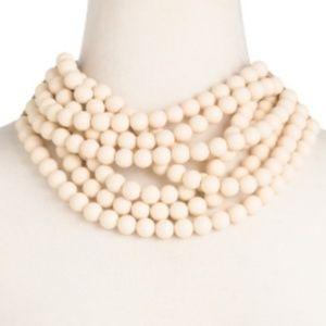 Fairchild Baldwin Jewelry - Fairchild Baldwin beaded necklace collar